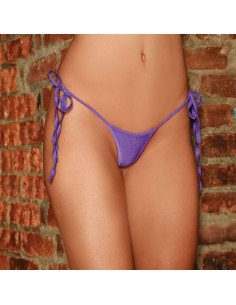 Electric Lingerie Side-Tie V-String Paars