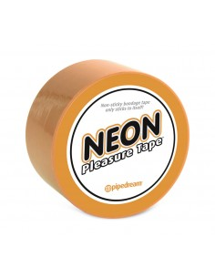 Pipedream Neon bondage tape Oranje