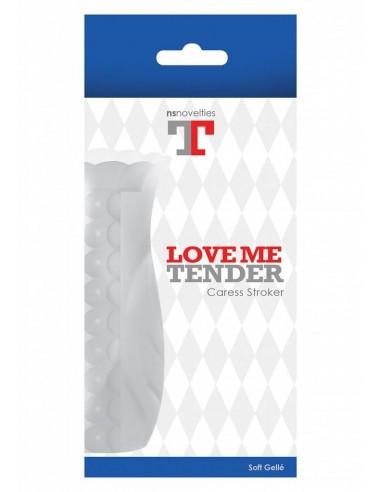 NS Novelties Love me tender caress clear