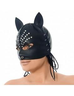 Rimba masker met oren versierd met nieten