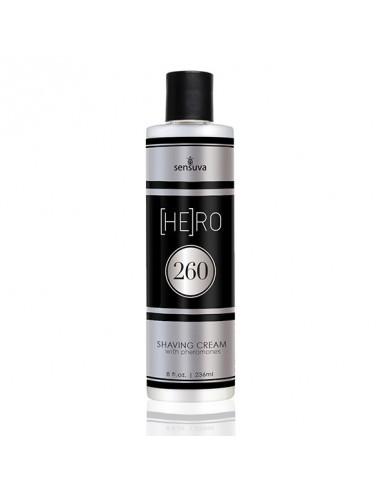 Sensuva - HE(RO) 260 Male Pheromone Shave Cream 236 ml