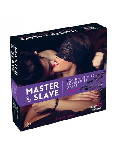 Tease & please Master & slave bondage spel paars