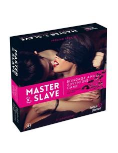 Tease & please Master & slave bondage spel magenta