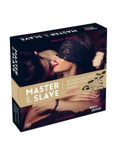 Tease & please Master & slave bondage spel beige