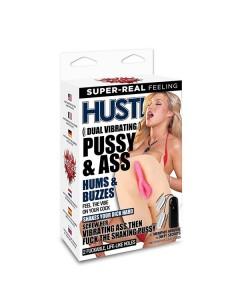 Hustler Dual vibrating pussy & ass