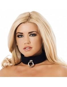 Rimba Halsband 4 cm zwart