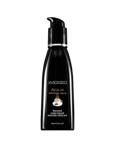 Wicked Aqua Mocha java water based lubricant 60 ml