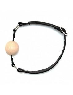Rimba Mondknevel met houten bal