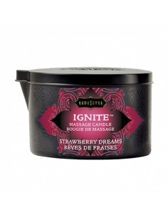 Kamasutra Massage candle Strawberry dreams
