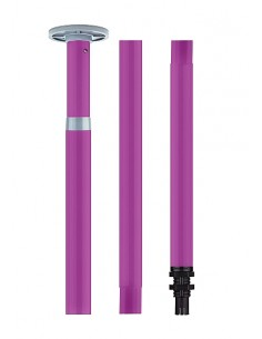 Shots Toys Professional Dance pole purple