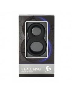Rocks-off 8 ball ring