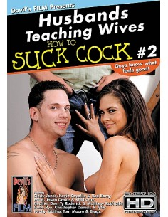 Husbands teaching wives how to suck cock 2