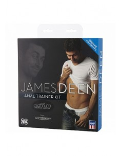 Doc Johnson James Deen Black and Blue anal trainer kit
