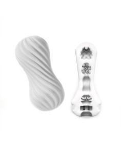 Tenga Flex masturbatie sleeve silky wit