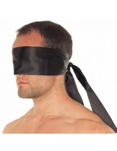 Rimba Polyester blinddoek zwart
