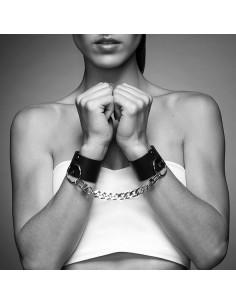 Bijoux Indiscrets Maze Wide cuffs black