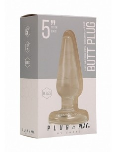 Shotstoys Butt Plug Basic 5 inch glass