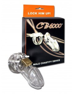 CB-X CB-6000 Chastity Package Clear
