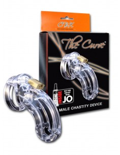 CB-X The Curve Chastity Package Clear