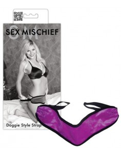 Sex and Mischief Doggie style strap