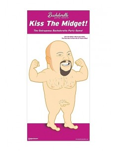 Pipedream Kiss the midget party game
