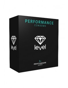 Level Performance condoms 5x