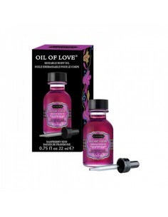 Kamasutra Oil of love Raspberry kiss 22 ml