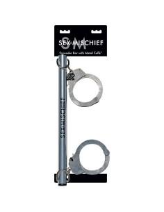 Sex Mischief Spreader bar with Metal cuffs