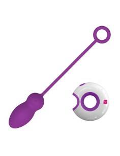 Loverspremium O-remote control egg purple Leya