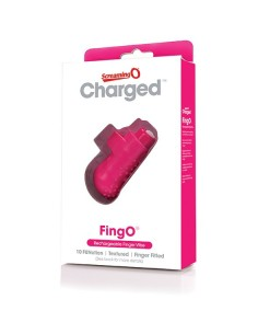 The Screaming O Charged Fingo vinger vibe pink