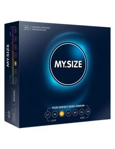 My.Size Natural latex condoms 53 width 36 pcs