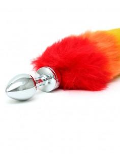 Rimba Buttplug met regenboog staart