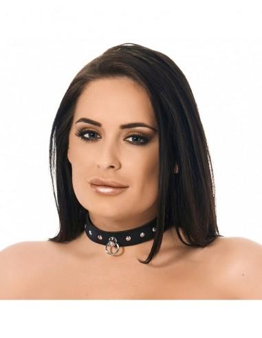 Rimba Halsband versierd met nieten M/L