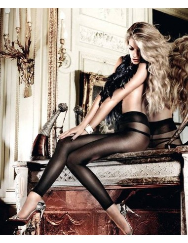 Baci Lingerie Zwarte net legging