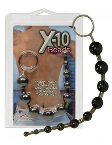 California Exotic Novelties Anal Beads X-10