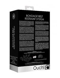 Ouch Bondage Belt restraint system black