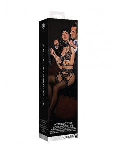 Ouch Introductory bondage kit 6 black
