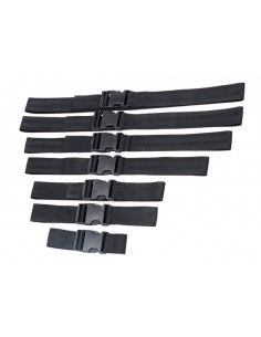 Master Series Subdued 7-delige bondage riemen set