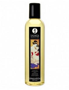 Shunga Massage Olie Stimulatie Peach 250 ml
