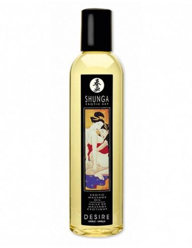 Shunga Massage Oil Desire Vanilla