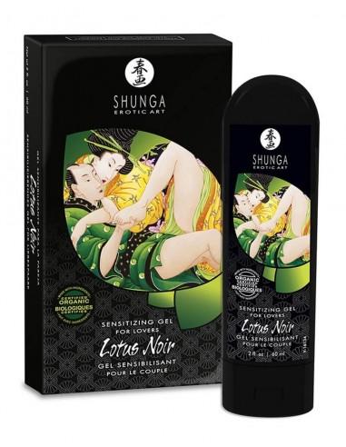 Shunga Lotus noir sensitizing gel