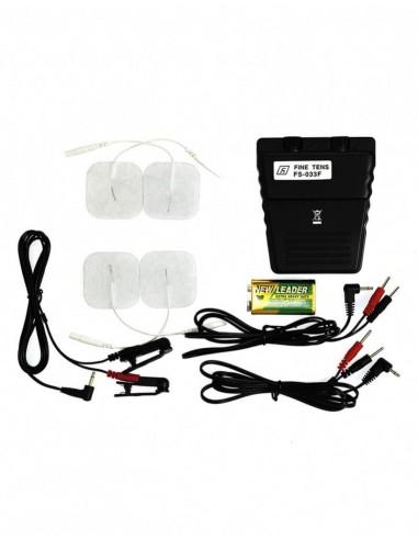 Rimba Electro seks powerbox set met klemmen en electrode plakkers