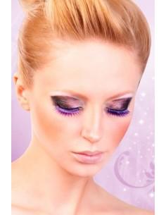 Baci Lingerie Purple deluxe eyelashes