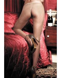 Baci Lingerie Jacquard nude pantyhose