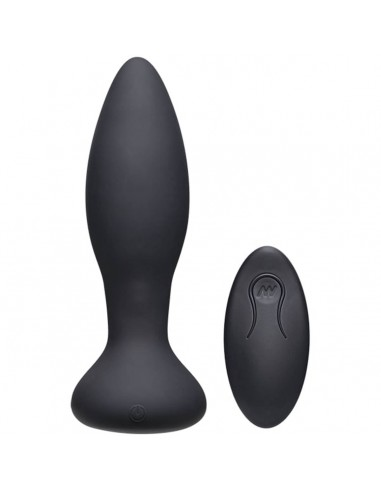 A-play Rimmer experienced vibrating and rotating butt plug black