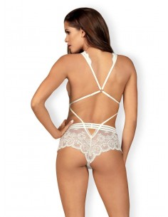 Obsessive Lace teddy white S/M