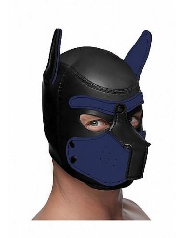 Master Series Neoprene puppy hood Black and Blue