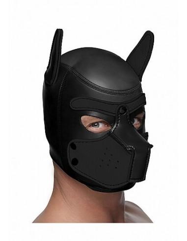 Master Series Spike Neoprene puppy hood Black