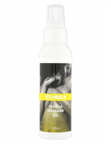 Stimul8 Massage oil Vanilla 100 ML