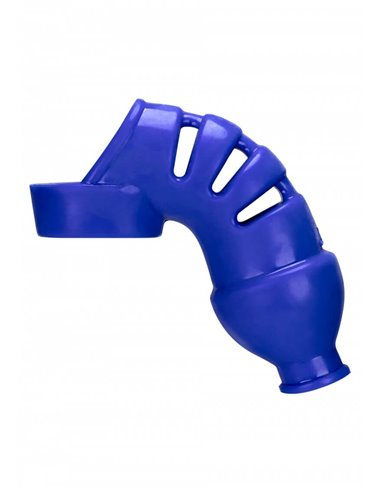 Hunky Junk Lockdown chastity cage Blue